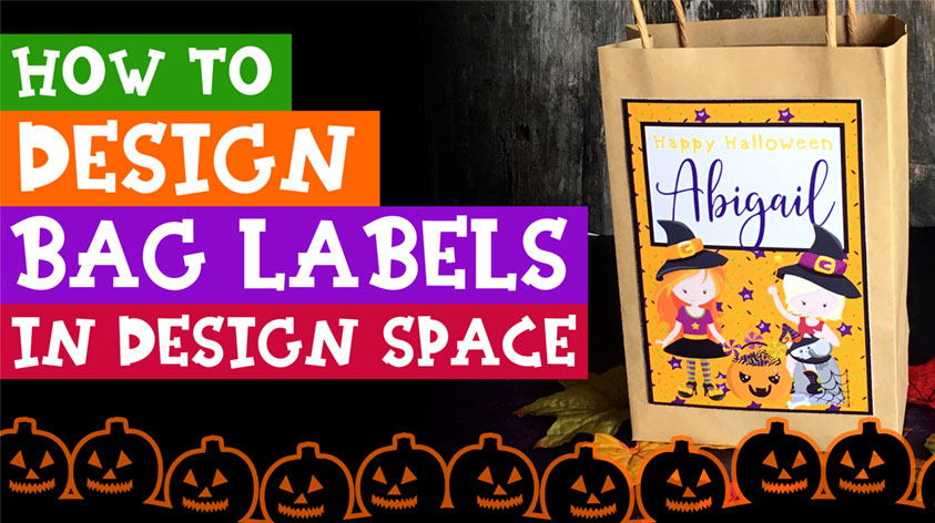 How to Design Gift Bag Labels in Cricut Design Space