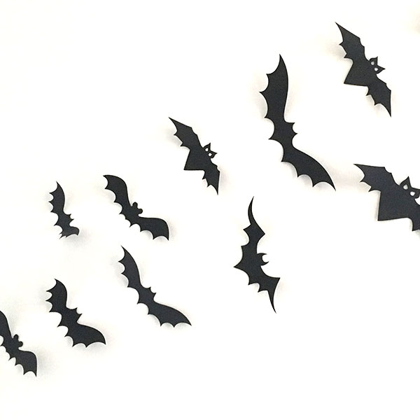 How to Make a Bat Wall for Halloween