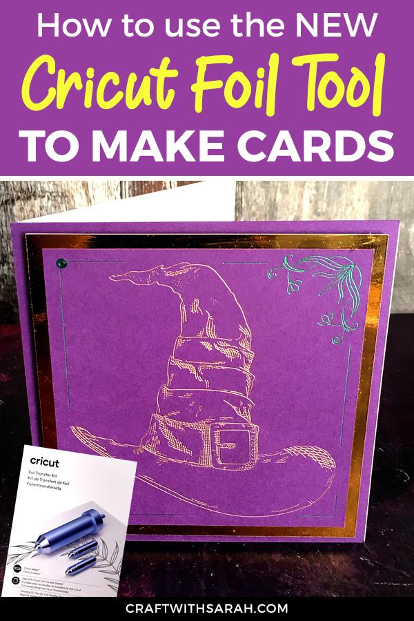 Handmade Cards with the Cricut Foil Transfer Tool
