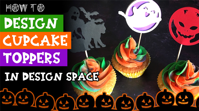 How to Design Cupcake Toppers in Design Space