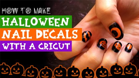 How to Make DIY Vinyl Nail Decals with a Cricut