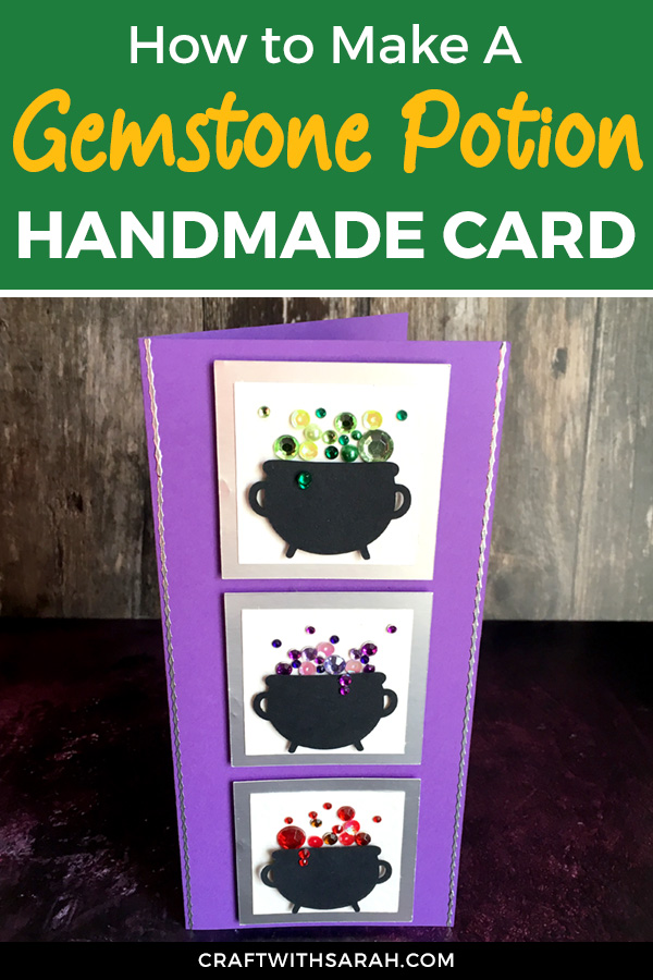 Halloween witch slimline card. How to make a slimline card. Halloween slimline card ideas.