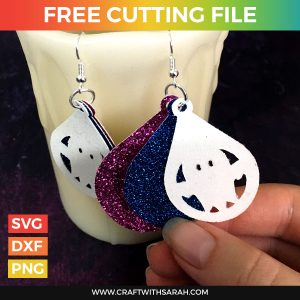 Ghost Earrings Cutting File