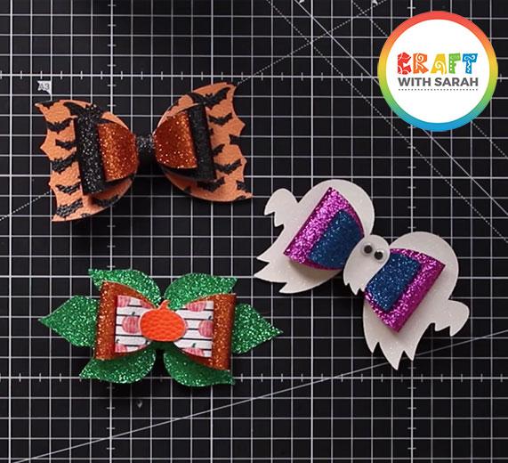 Halloween hair bow SVGs