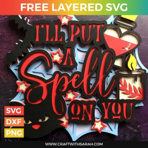 I'll Put a Spell on You Layered SVG