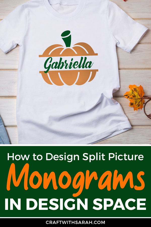 How to Make Split Picture Monograms in Cricut Design Space
