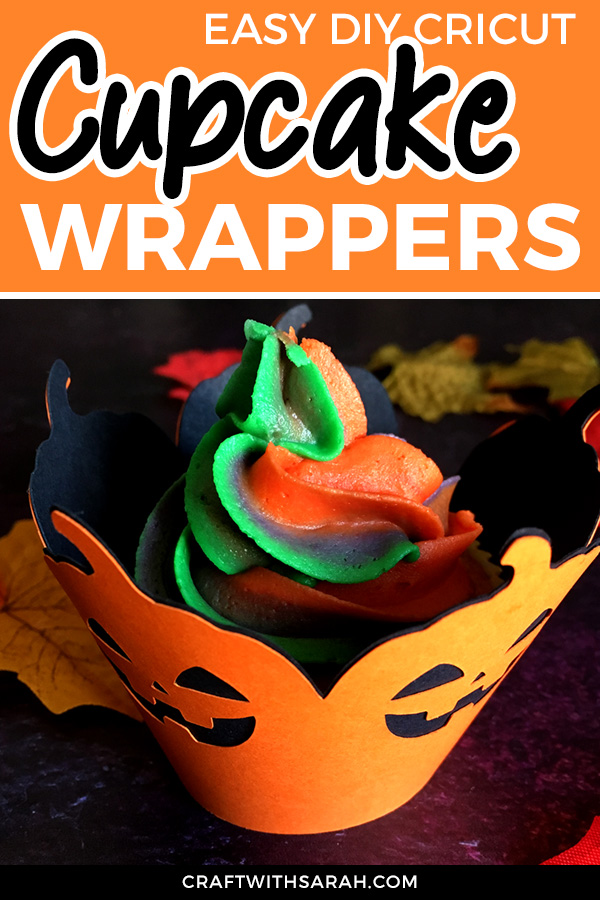 Free Halloween cupcake wrapper SVG cutting files. Decorate your cupcakes for Halloween with these free cupcake cases for cutting machines.