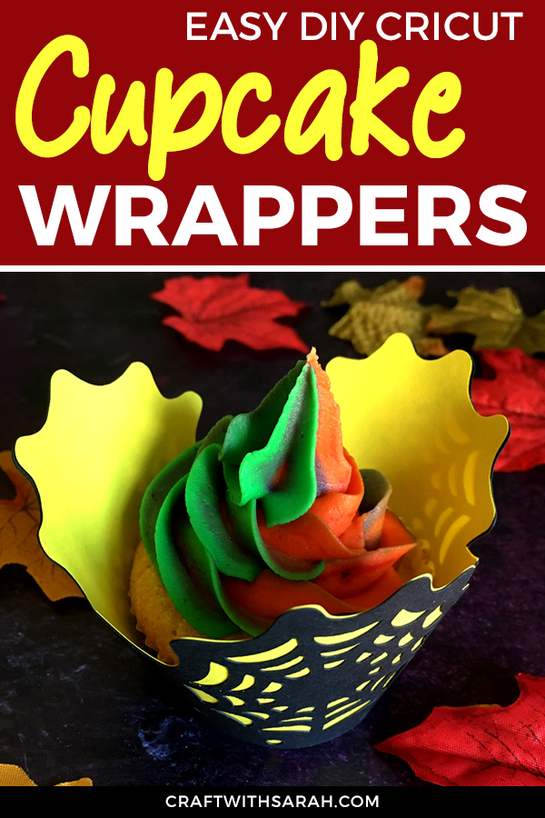 It's cupcake time! Choose from a pumpkin and spider web free Halloween cupcake wrapper. DIY cupcake wrappes for Halloween. Halloween cupcakes to bake today!