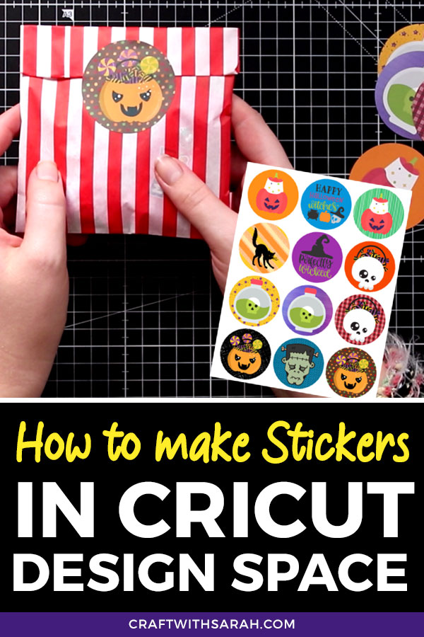 Design custom stickers in Cricut Design Space. How to make stickers on a Cricut. Design your own stickers for Cricut machines.