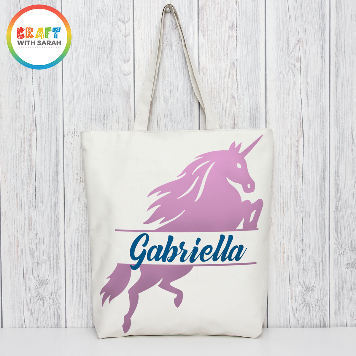 Unicorn tote bag design
