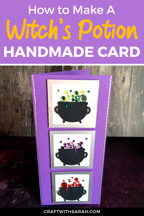 If you're like me and you tend to hoard gemstones, sequins and other tiny embellishments, then this is a great card to get you to finally use up some of your supplies!