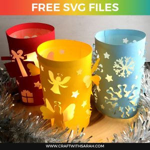 Christmas Luminaries SVG Files