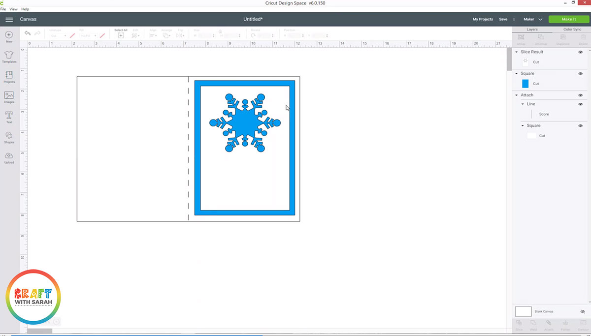 Snowflake slice results