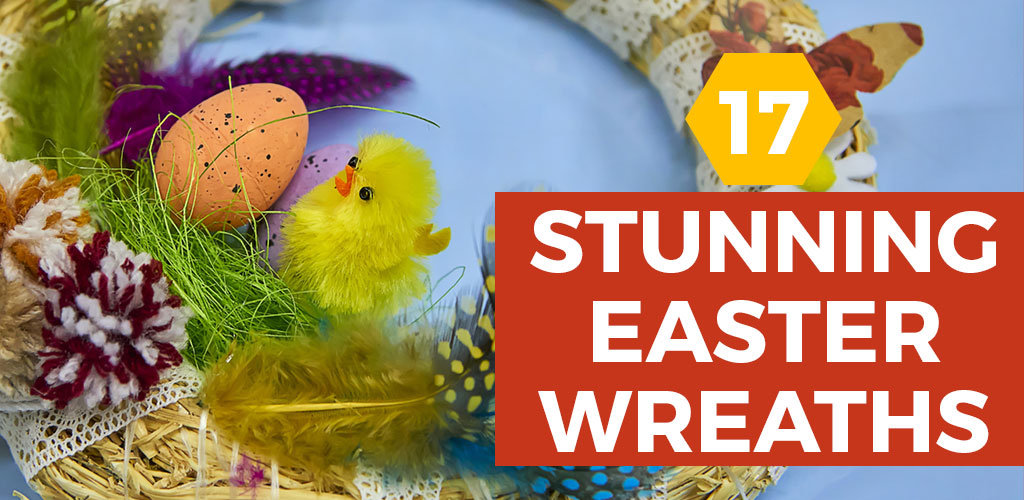 17 Gorgeous DIY Easter Wreaths for Simple Spring Decor