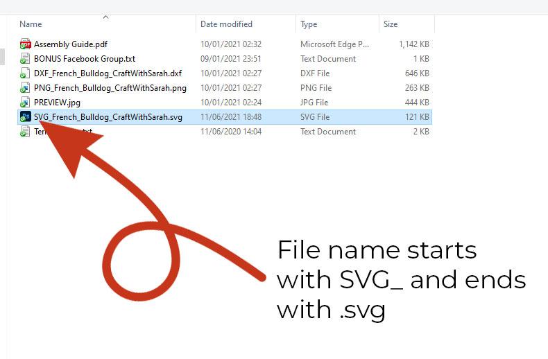 Choose the SVG file