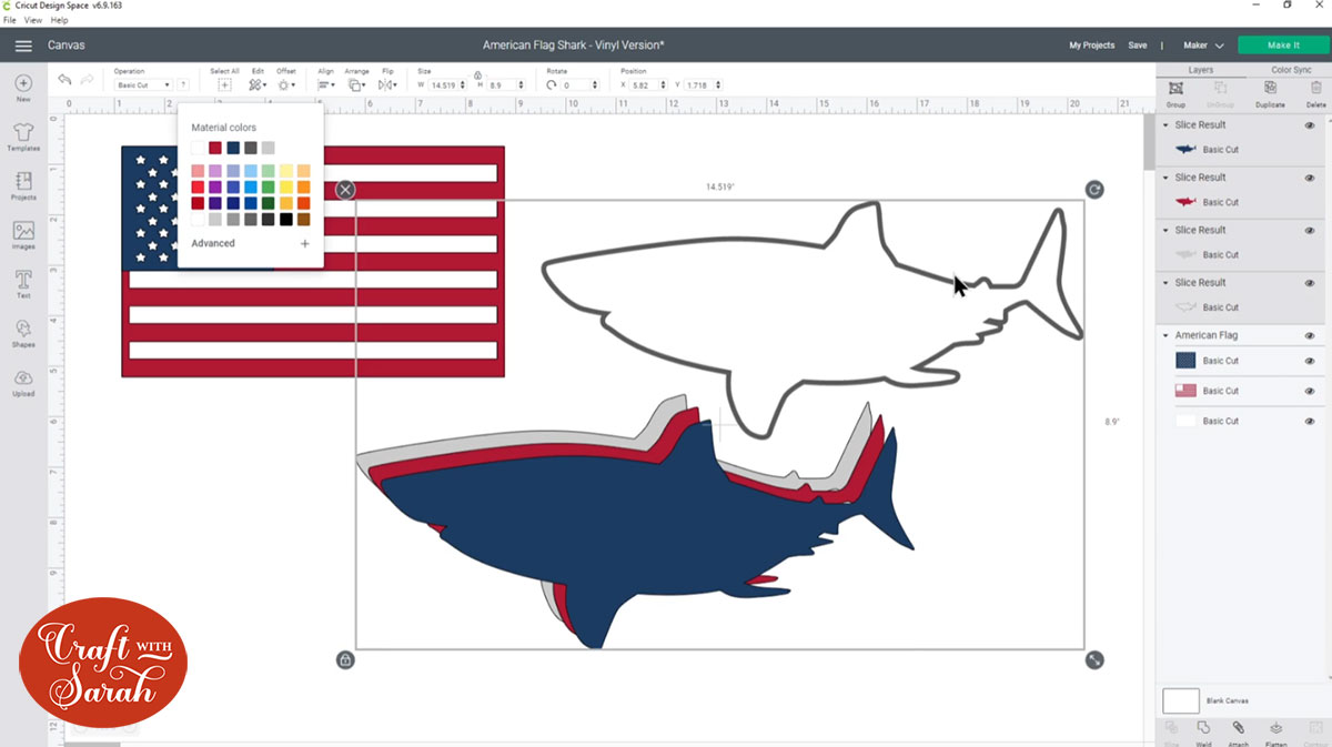 Duplicate the sharks