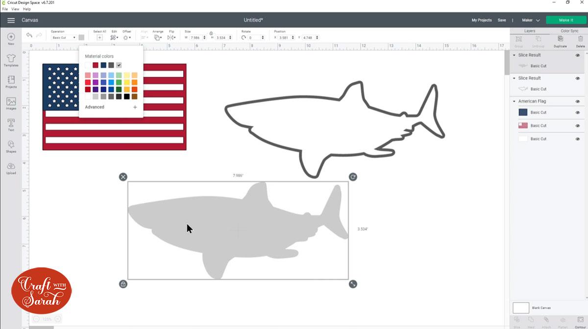 White shark layer