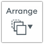 Design Space Arrange Icon