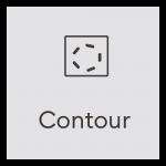 Design Space Contour Icon