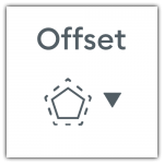 Design Space Offset Icon
