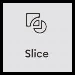 Design Space Slice Icon