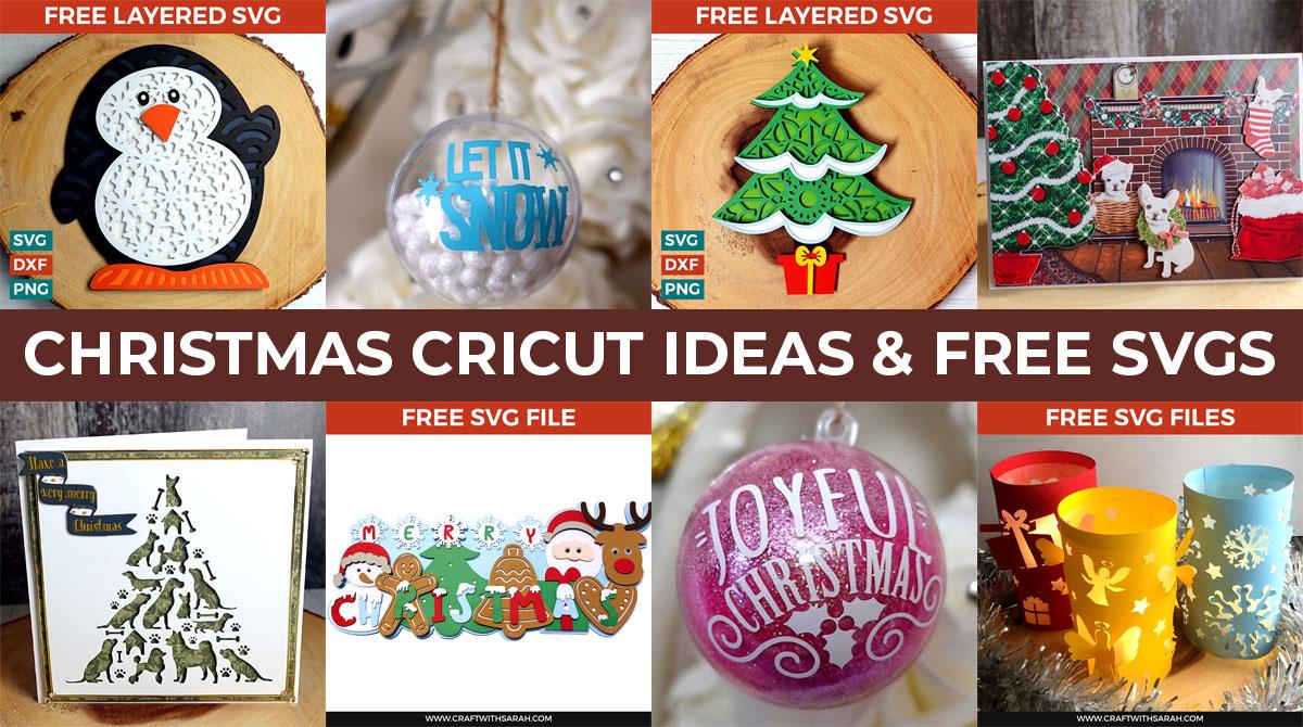 The Best Christmas Cricut Ideas