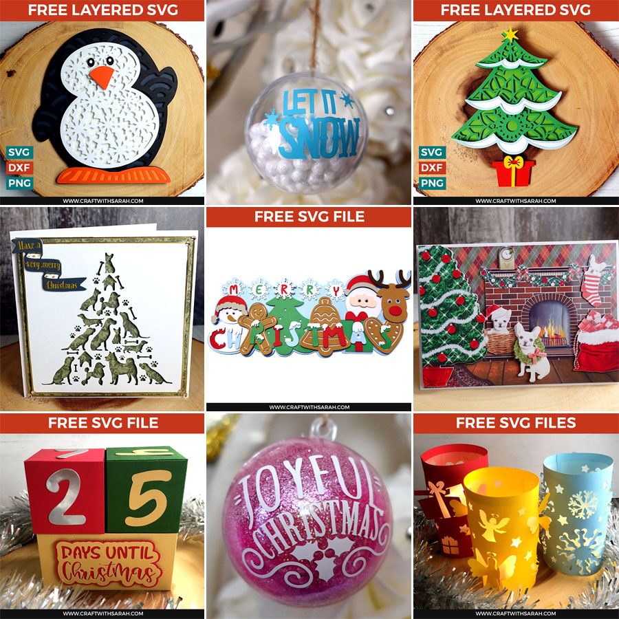 The Best Christmas Cricut Ideas | Free Christmas SVGs