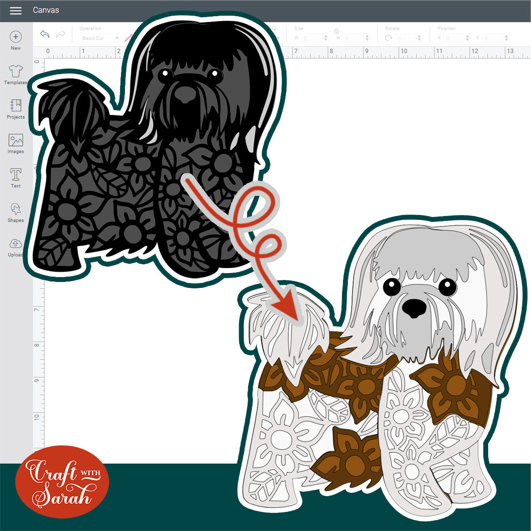 How to add Patches to Layered Dogs: Recolouring SVGs [Part 3]
