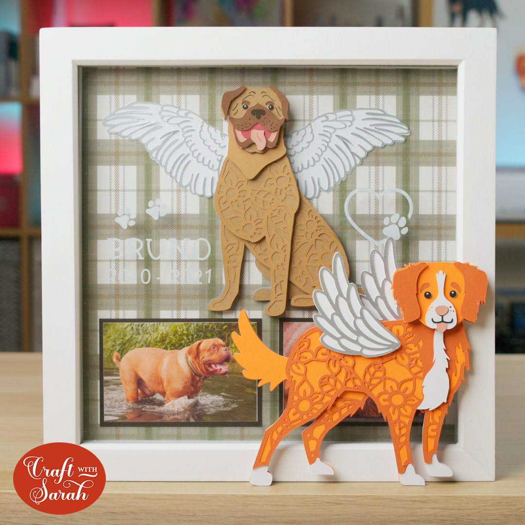 How to Add Angel Wings to Layered SVGs for Pet Memorials
