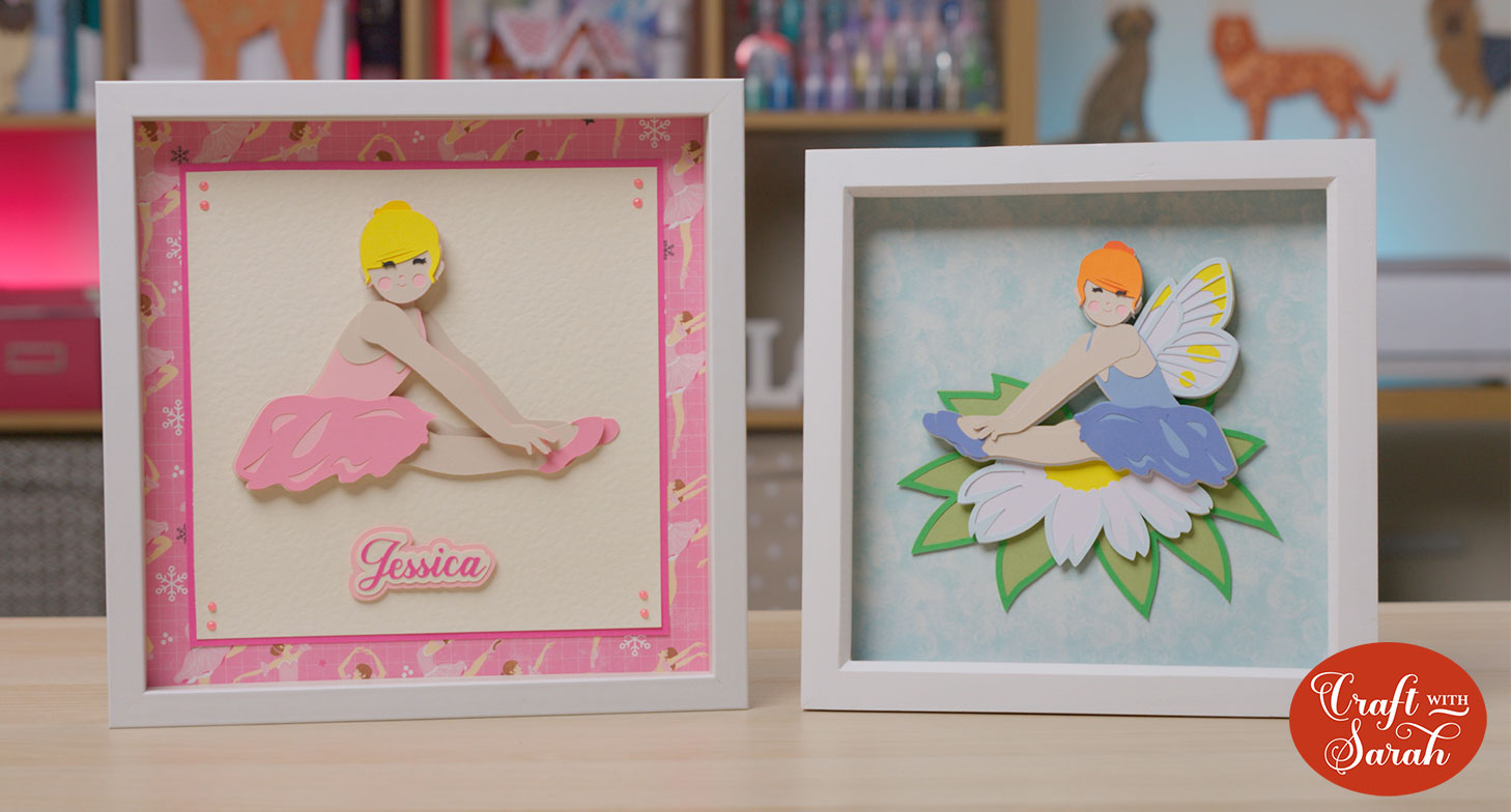 Ballet dancer and fairy free SVGs