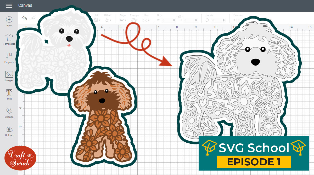 How to Switch the Heads of my Layered Dog & Cat SVGs