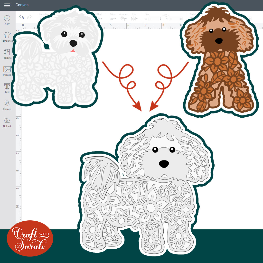 How to Switch the Heads of my Layered Dog & Cat SVGs 🐕