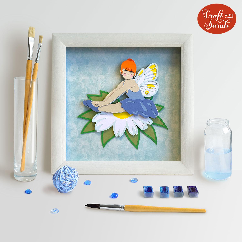 Fairy Cricut craft project