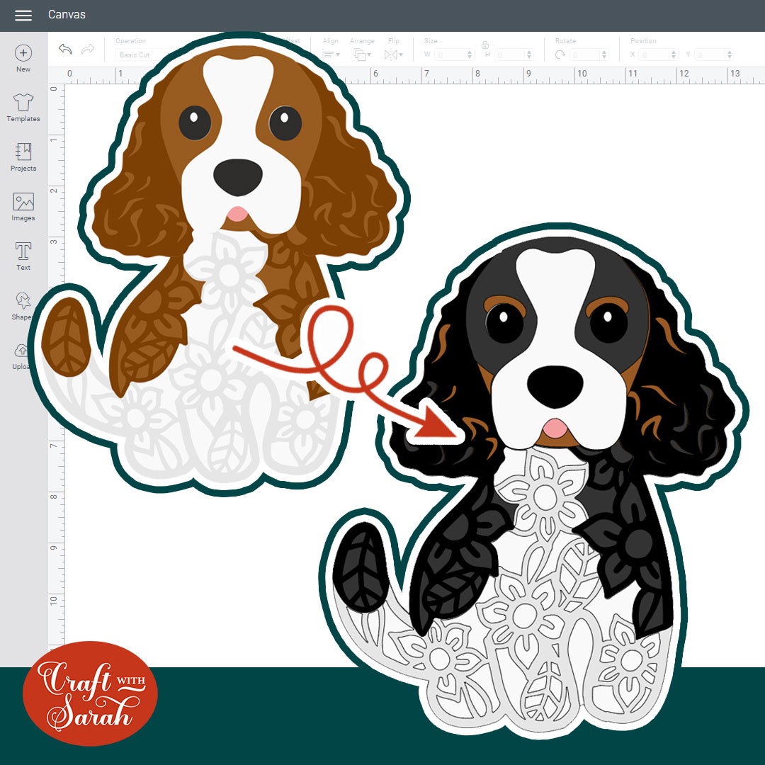 How to Make a Tricolor Dog SVG: Recolouring SVGs [Part 2]