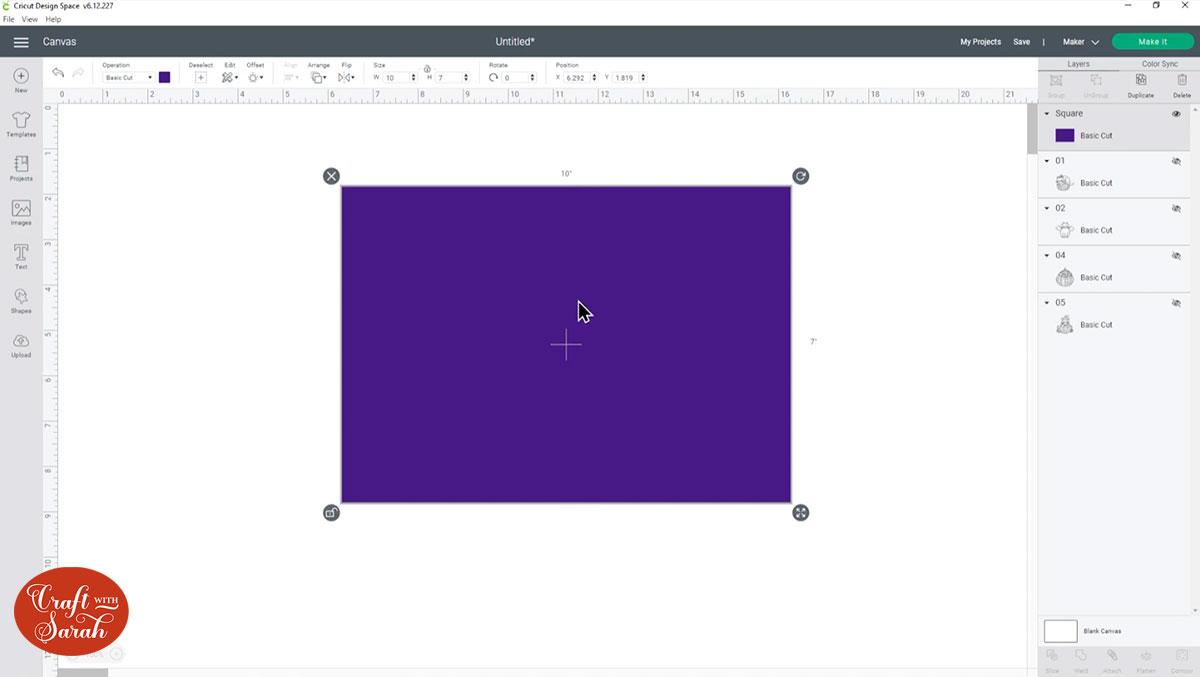 Create a base card