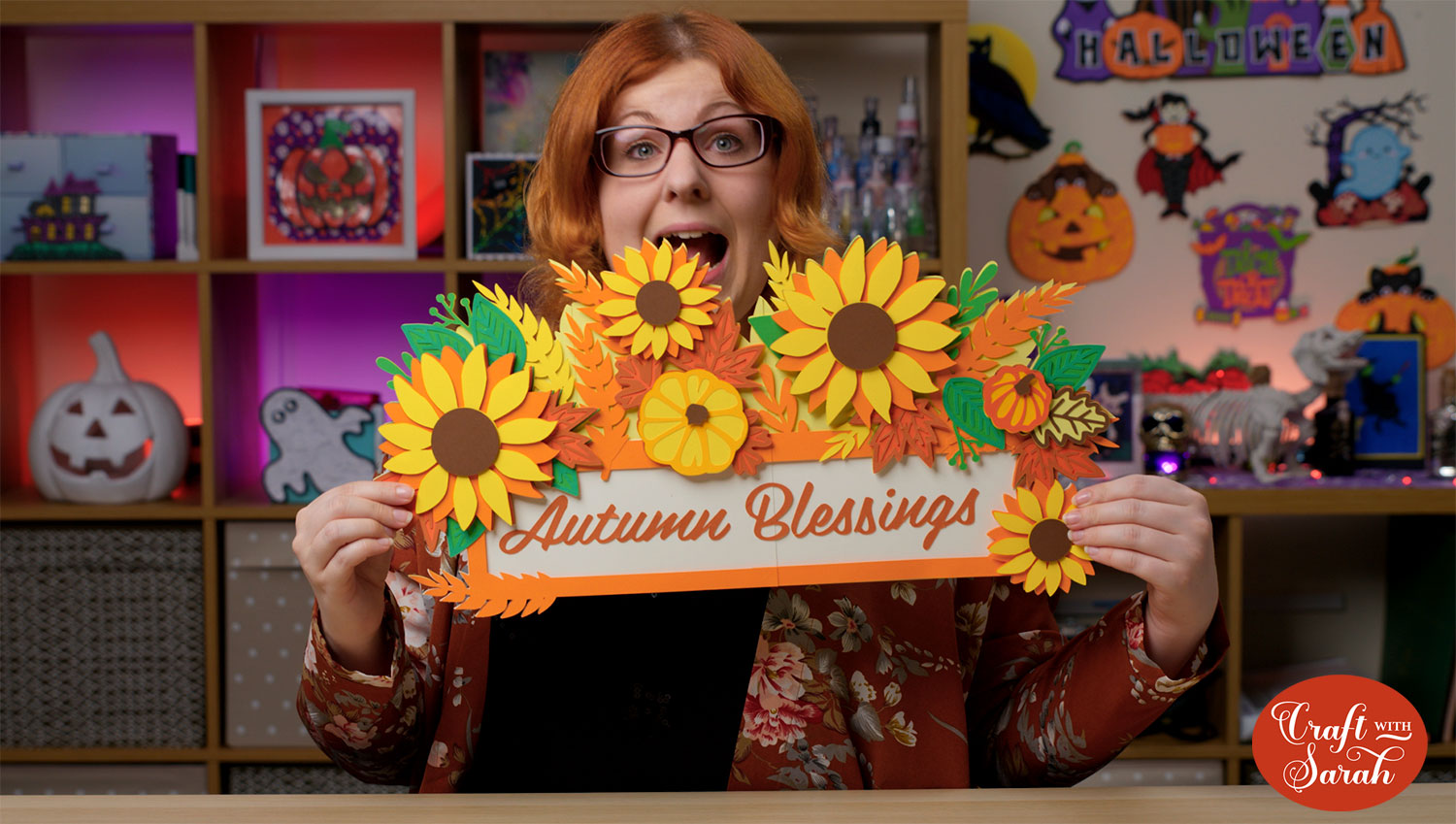 Autumn blessings craft