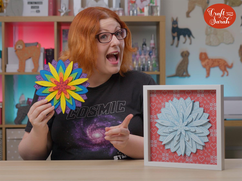 Craft with Sarah mandalas