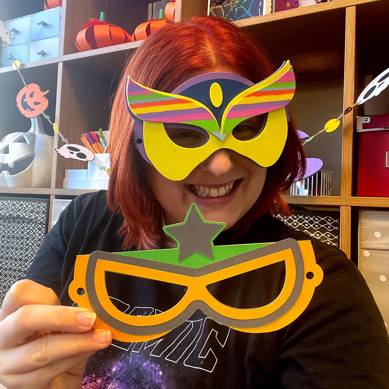 DIY Hero Masks