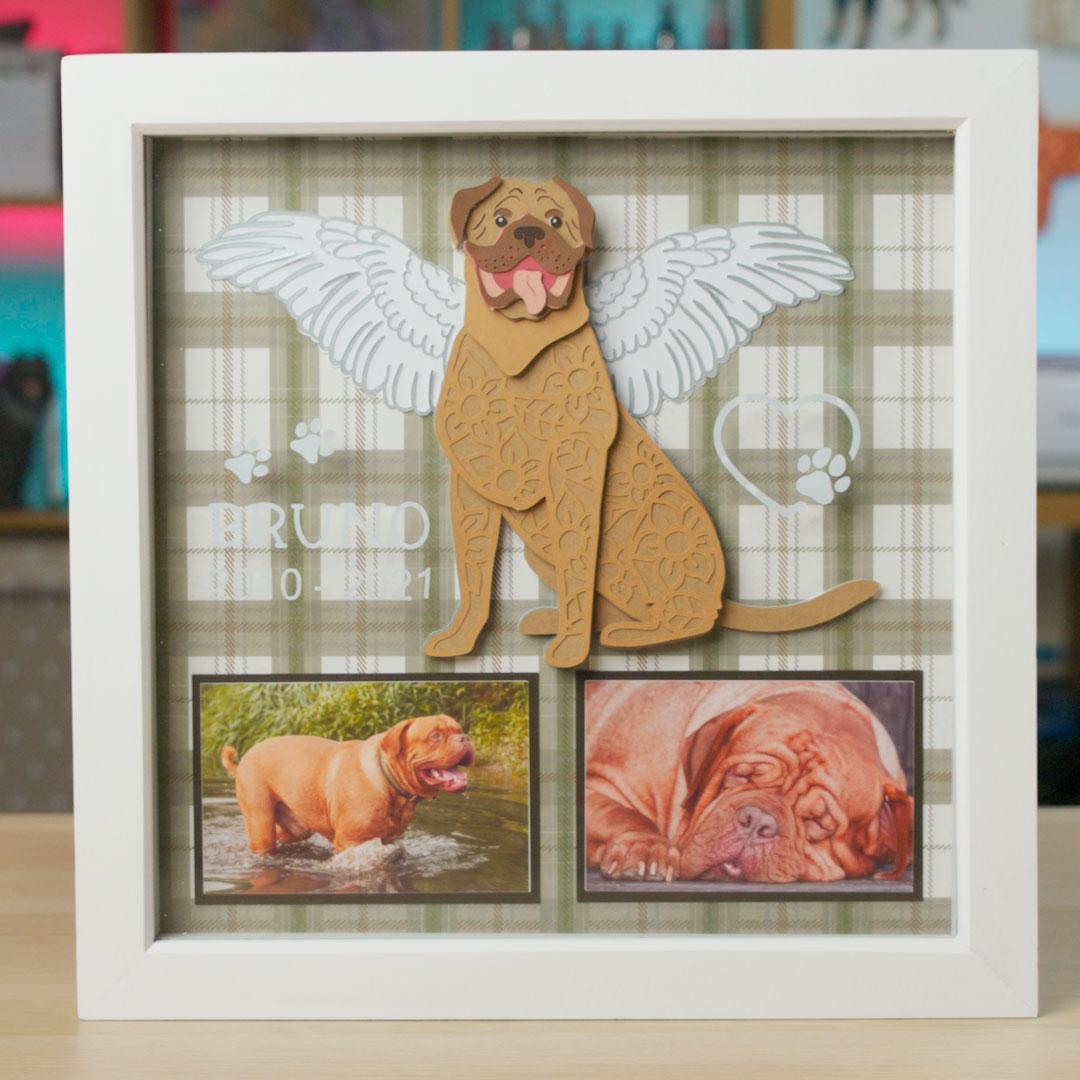 Design a Custom Pet Memory Frame for your Dog
