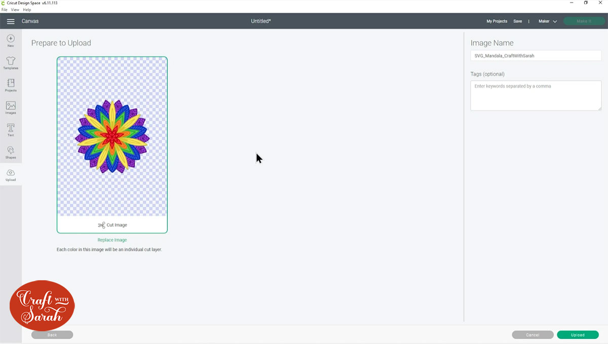 Mandala in Design Space