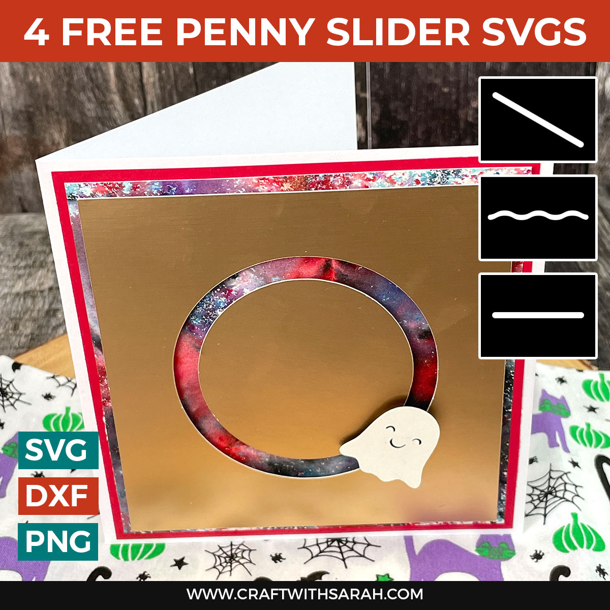 How to Make a Penny Slider Card: 4 Free Templates [HCC Day 2]