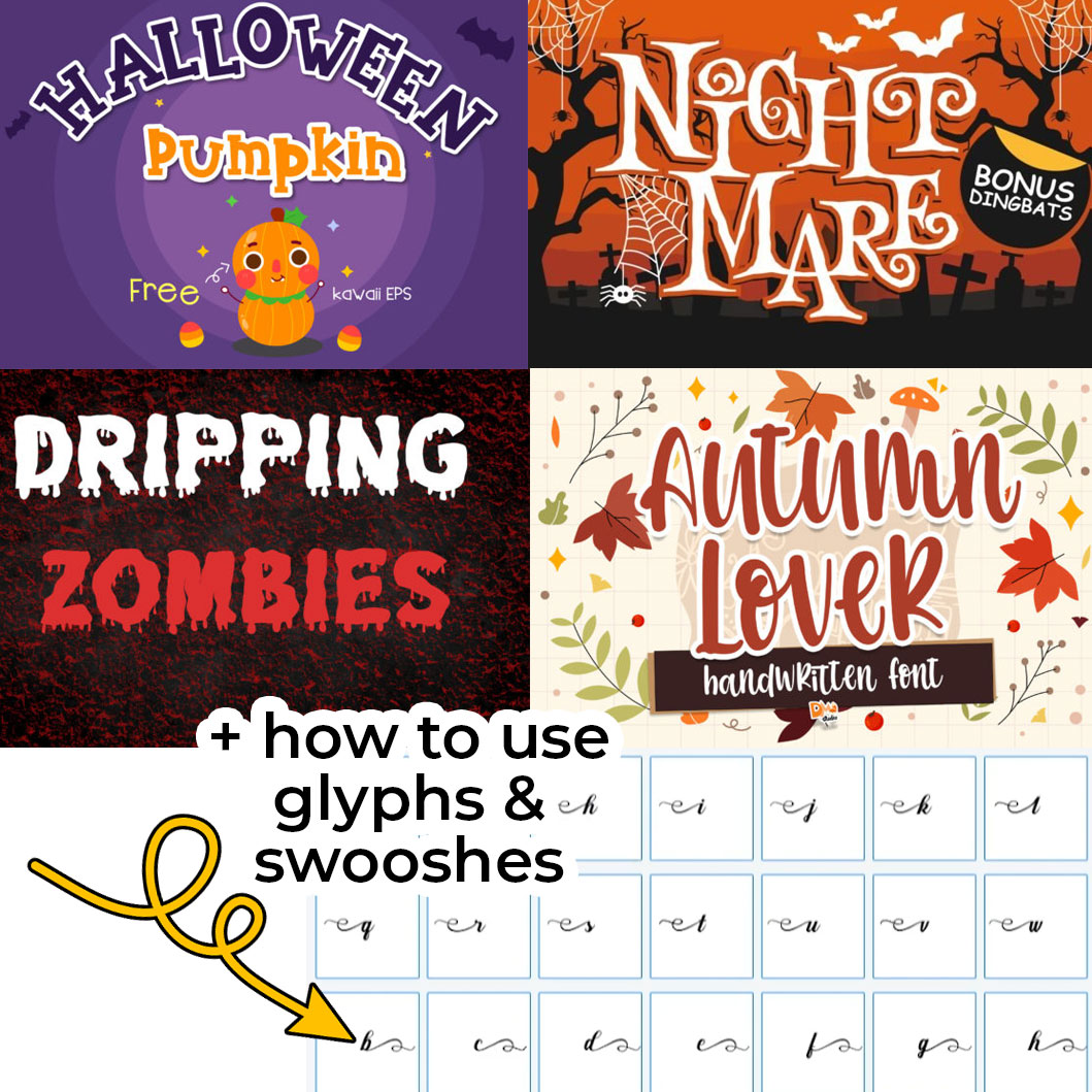 The Best Halloween Fonts & How to Use Them [HCC Day 13]