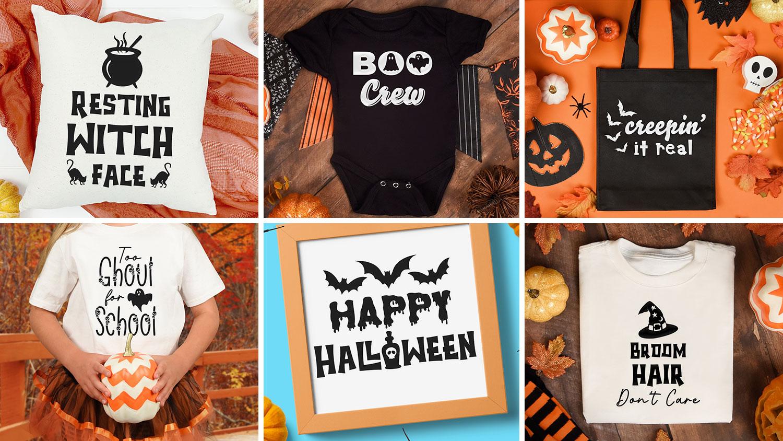 10 Cricut Vinyl Ideas for Halloween Crafts